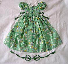 Smocked Dress Quilt Block