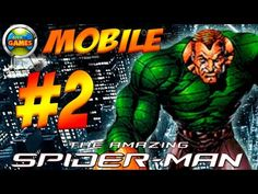 The Amazing Spider Man Mobile Parte #2 Java Game Touch