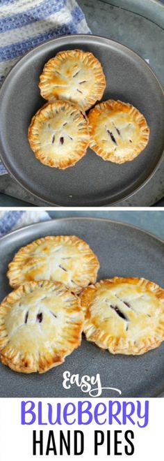 These cute and tasty blueberry hand pies are perfect for a picnic, tea or dessert idea. Easily transportable too! #easy #handpies #recipe #blueberry #blueberries #dessert #handheld #tea #shower #dessertidea #easyrecipe #dessertrecipes #pie via @OCRaquel