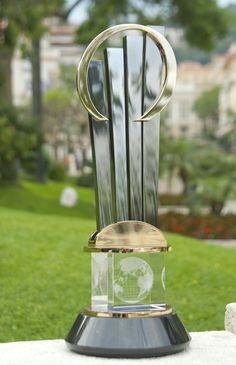 World EOY award trophy. #WEOY