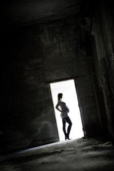 Fotografering af gravide mavebilleder
