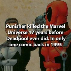 Punisher or Deadpool?... Punisher is awesome...