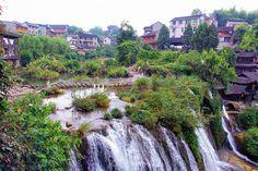 Furong Ancient, Town, Zhangjiajie, china
