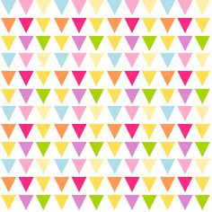 FREE printable bunting pattern papers