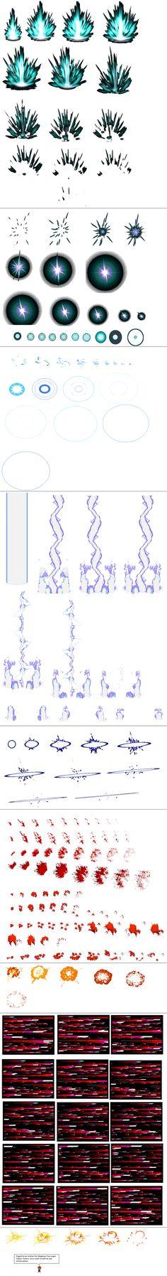 Ultimate Effects Sheet 2 by Xypter on deviantART