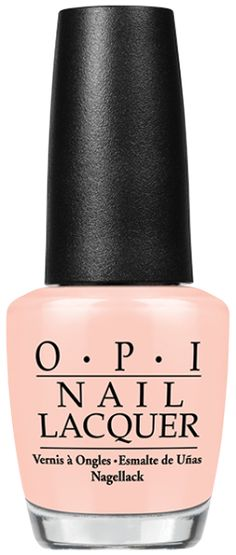 SoftShades Pastels Nail Lacquer by OPI   Stop It I'm Blushing!: A flattering flush of warm, baby peach.