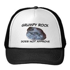 Grumpy Rock Trucker Hats