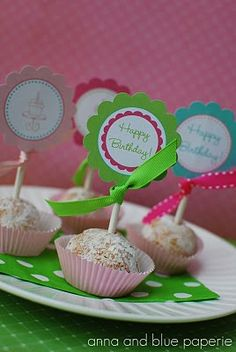 Birthday Party Ideas for Girls {Free Printables}