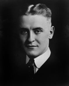 † F. Scott Fitzgerald (September 24, 1896 - December 21, 1940) American writer, known from the novel The great gatsby.