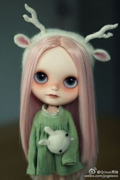 #blythe##costume##hairstyle##makeup##artdoll#
