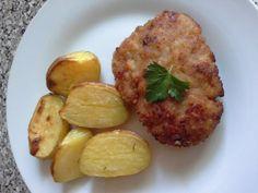 Holandský rezeň • recept • bonvivani.sk Baked Potato, Potatoes, Baking, Ethnic Recipes, Food, Potato, Bakken, Essen, Meals