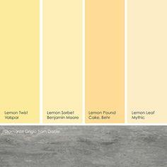 Lemon Sorbet Benjamin Moore 8 perfect pale buttercream paint colors — designers palette