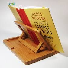 Image result for recipe book stand