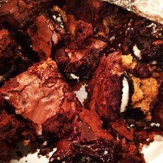 My own slutty brownies