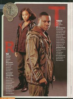Rue and Thresh in People Magazine