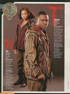 Rue and Thresh in People Magazine