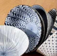 Japanese Bowls by Schreuder & Kraan on Flickr.