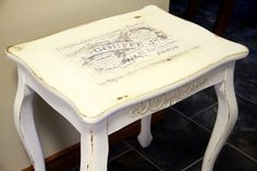 I Restore Stuff: French Provincial Shabby Chic Coffee Table Makeover
