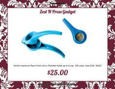 Tupperware Zest n Press Gadget