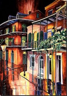 Diane Millsap ~ Evening in the Quarter