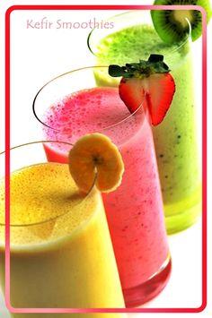Probiotic Friendly Kefir Smoothies via @Sunithi Selvaraj