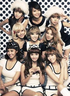 The world will forever be in a girls generation- they look all so pretty!!