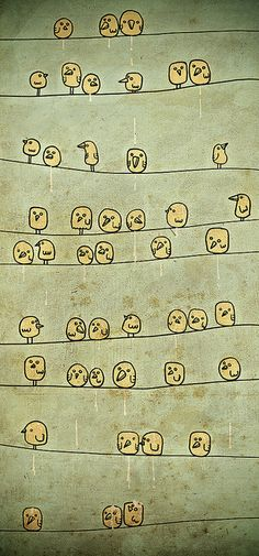 How cute would this be to use as a family tree of sorts.  I want to do this!