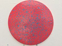 Yap Poh Tiam Raymond Transition Series Gloss Paint on MDF board 30cm Diameter