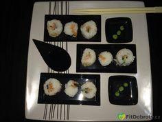 awesome sushi Sushi, Awesome, Ethnic Recipes, Fitness, Food, Essen, Meals, Yemek, Eten
