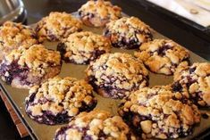 Fruit Recipes, Muffin Recipes, Wine Recipes, Cookie Recipes, Dessert Recipes, Desserts With Biscuits, Breakfast Muffins, Baking Cupcakes, Blue Berry Muffins