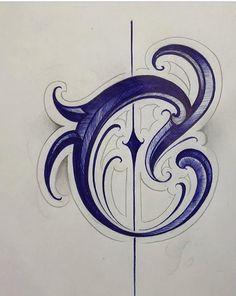 Tattoo Writing Fonts, Tattoo Lettering Alphabet, Tattoo Lettering Styles, Chicano Lettering, Calligraphy Alphabet, Lettering Design, Hand Lettering, Acab Tattoo, Tattoo Script