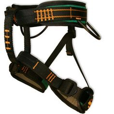 Misty Mountain Primo Harness. Kids can climb in style in the Primo youth size climbing harness | at www.weighmyrack.com/ #rock #climbing #gear