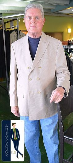 Meet Harold, a FLIP Ambassador! Harold recently came in & found one of our favorites; this Brunello Cucinelli blazer that fit him perfectly! Thanks Harold!