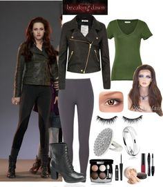 """Be Bella Cullen for Halloween / Karneval Fight Scene Look"" by natihasi on Polyvore"