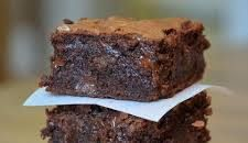 Make classic chocolate brownies with this easy recipe, perfect for everyday baking and occasions. Find more cake recipes at BBC Good Food. Chewy Brownies, Chocolate Brownies, Chocolate Flavors, Chocolate Desserts, Easy Brownies, Chocolate Chips, Just Desserts, Delicious Desserts, Yummy Treats