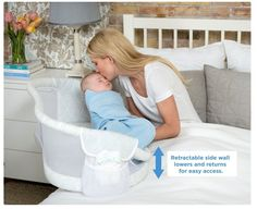 The new Halo Bassinest Swivel Sleeper is an infant bed that helps prevent Sudden Infant Death Syndrome (SIDS). The bassinet moves to allow baby to sleep as close as mom wants - closer than with any other bassinet, even right next to her in bed. Yet baby sleeps safely in his own separate sleep area, reducing the risks that are associated with bed sharing. http://www.kidstodayonline.com/article/568636-Halo_Bassinest_Swivel_Sleeper_revolutionizes_infant_sleep.php