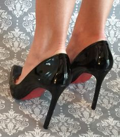 #high #heels #legs #sexy #slippers #black
