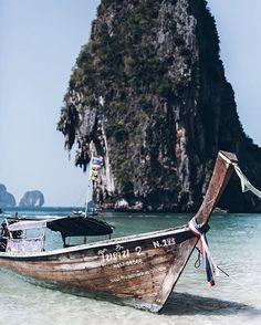 Phra Nang Beach, Thailand ~ Via @mikutas On Instagram