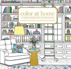40 Awesome Gift Ideas For Architects And Interior Designers // A coloring book for interior designers.
