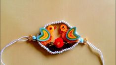 Hey Viewers, This year I have created a rakhi with theme of birds. why to restrict this beautiful festival only till we humans. Quilling Rakhi, Paper Quilling, Crochet Earrings, Drop Earrings, Jewelry, Jewlery, Bijoux, Schmuck, Drop Earring