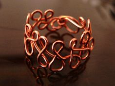 Copper ring Handmade.  Only. Not reproducible. Made in Italy.  it is not available