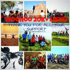 Thank you for all the love and support..we reached the Milestone of 20k+ likes on Facebook.  Website: www.naturewalkers.in Facebook page : https://www.facebook.com/connectwithnaturewalkers/  #naturewalkers #trekking #mountain #travel #outdoor #challenge #feelalive #naturelove #explore #wanderer #wanderlust #nammakarnataka #incredibleindia #india #getawaysfrombangalore #travelkarnataka #travellove #bangalore #trekkers #trek #adventure #explorers #thankyou