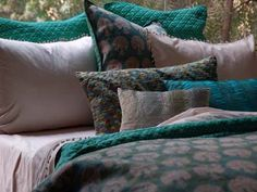 gorgeous teal bedroom