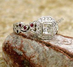 14K White Gold Over Oval Cut Diamond 1.50CT Solitaire Engagement Ring FREE SIZE #ELLEDIAMONDS #EngagementRing #EngagementWeddingAnniversary