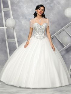 Custom quinceanera dresses in bright colors! These quince dresses can be made in any color. Lots of vestidos de quinceanera to choose from. Types Of Dresses, 15 Dresses, Cute Dresses, Fashion Dresses, Beautiful Wedding Gowns, Beautiful Dresses, White Quinceanera Dresses, Coral Skirt, Quince Dresses