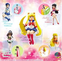 MOONIE MERCH OF THE DAY: Sailor Moon desk figures! http://www.moonkitty.net/reviews.php #sailormoon #anime