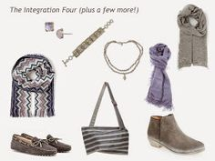 A 4 by 4 Capsule Wardrobe in Lavender, Jade, Denim and Grey | The Vivienne Files