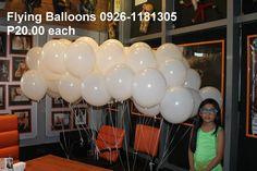Balloons On Sticks, Led Balloons, Flying Balloon