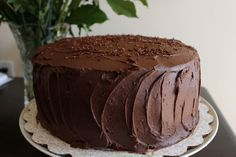The Best Delicate Recipes: Chocolate Stout Layer Cake Divine Chocolate, Chocolate Stout, Chocolate Cake, Mud Cake, Just Eat It, Unsweetened Chocolate, Baking Recipes, Cupcake Cakes, Cupcakes