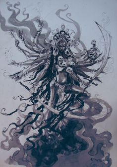 "thesoundandthelight:  ""Abhishek Singh  ""  Kali Ma."
